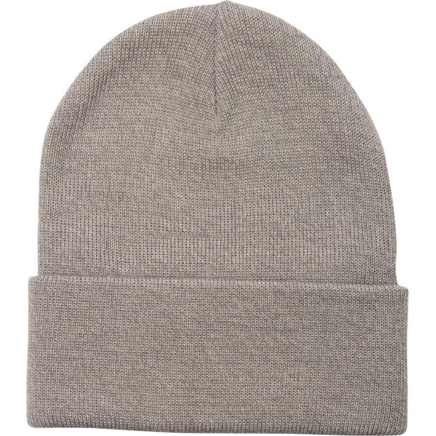 SHORT WATCH HAT I017326. - Short Watch Hat - Huer - GREY HTR - 2